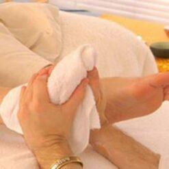 khăn massage foot